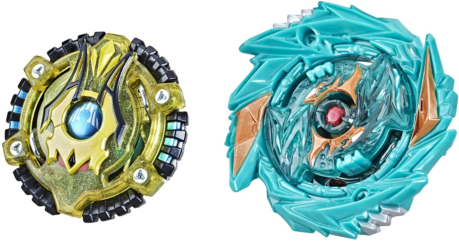 BEYBLADE Burst Surge Speedstorm Demise Satomb S6 and Anubion A6 Spinning Top Dual Pack 2 Battling Game Top Toy for Kids Ages 8 and Up