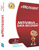 Protegent Antivirus with Data Recovery Software 1Yr/1PC (CD)