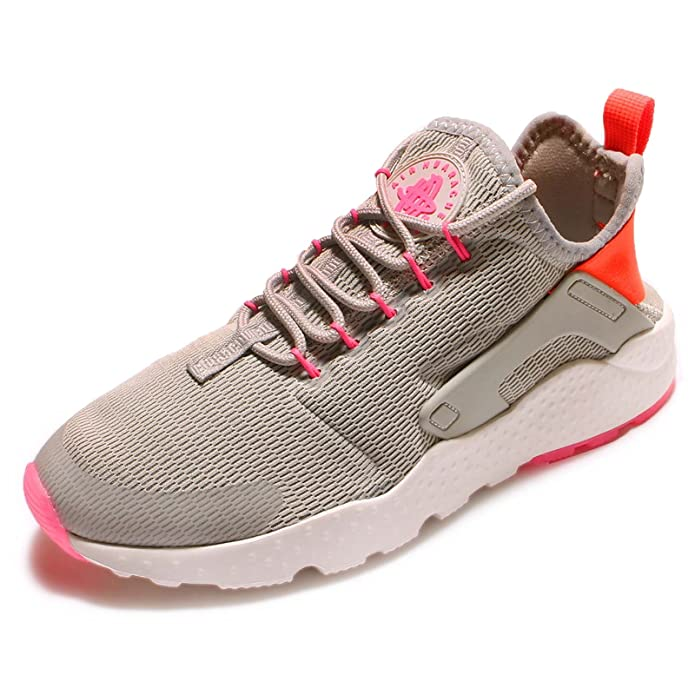 uk availability e42d5 7cffc Amazon.com   Nike Women s Wmns Air Huarache Run Ultra, LT IRON ORE TOTAL  CRIMSON-PINK BLAST, 7 US   Shoes