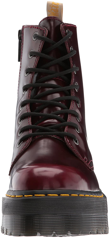 3aa5b39846249d Dr. Martens Vegan Jadon II 8 Eye Cambridge Brush Cherry Red  Amazon.de   Schuhe   Handtaschen