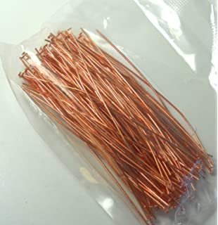 20 22 Gauge Thick 3 Inches Long Beadaholique Genuine Copper 2mm Ball Head Pins