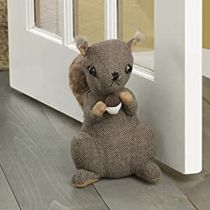 Elements Squirrel Door Stopper, 10-Inch - 5207607
