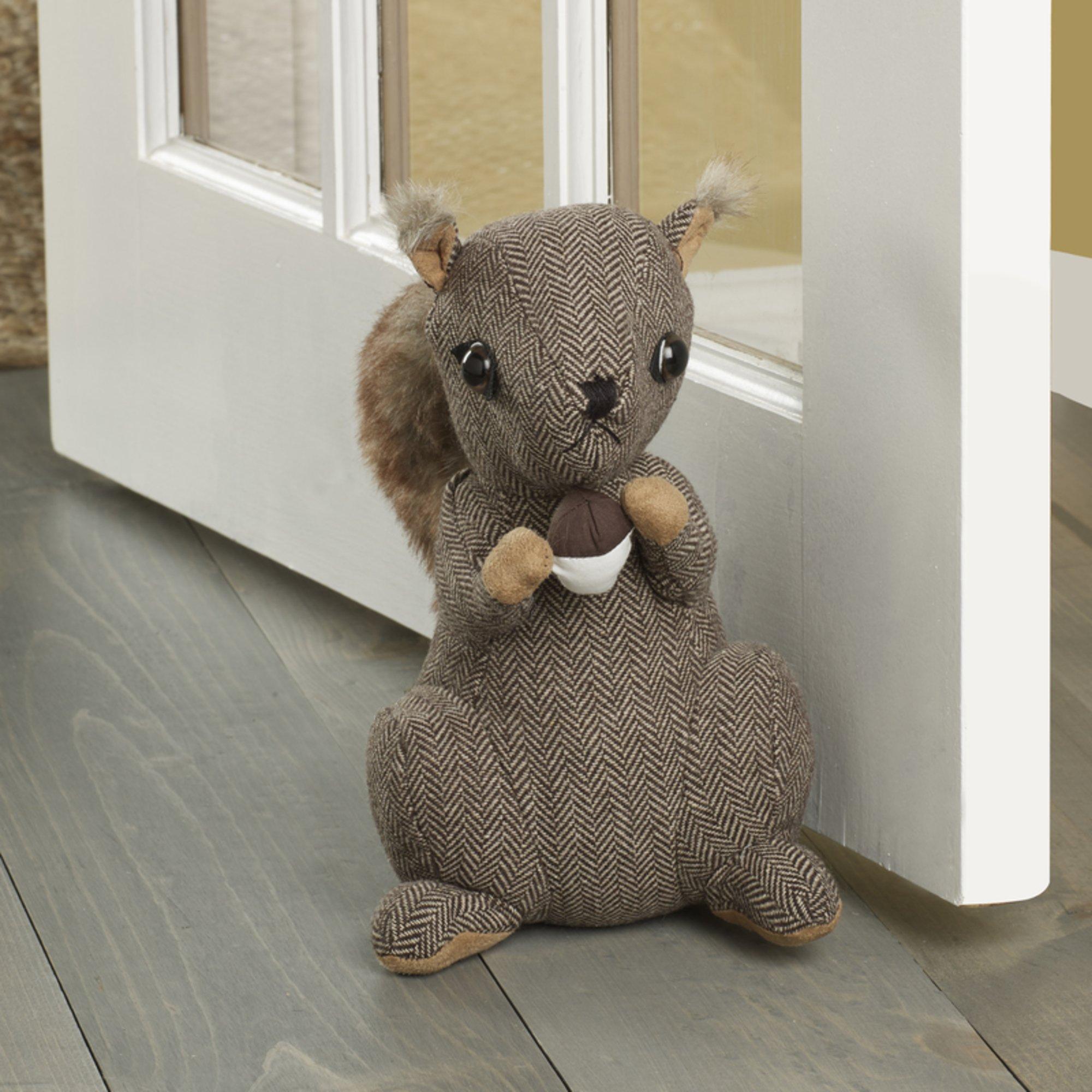 Elements Squirrel Door Stopper, 10-Inch