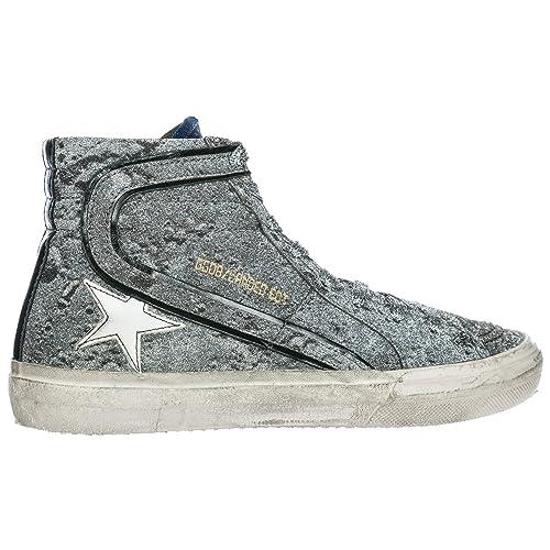 27a6516f91 Golden Goose Scarpe Sneakers Alte Donna Nuove Originale Slide ...