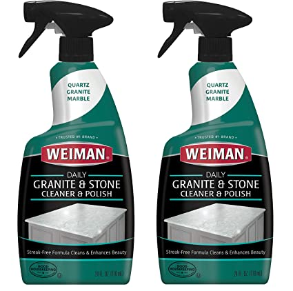 Amazon Weiman Granite Cleaner And Polish 24 Ounce 2 Pack