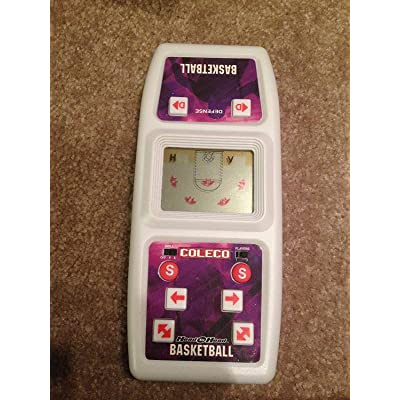 COLECO HEAD-TO-HEAD BAKSETBALL ELECTRONIC GAME: Toys & Games