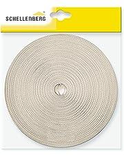 Schellenberg 81201 Cinghia per Avvolgibile, Sistema maxi, Beige, Larghezza 18 mm/12 m