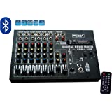 Medha D.J. Plus Professional 6 Channel Stero Echo Mixer With Digital Media Player , Bluetooth