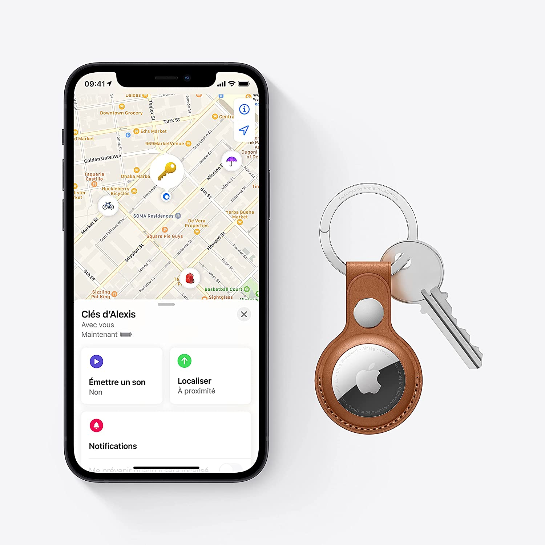 Apple va améliorer ses Airtag pour réduire notamment le risque d'être suivi