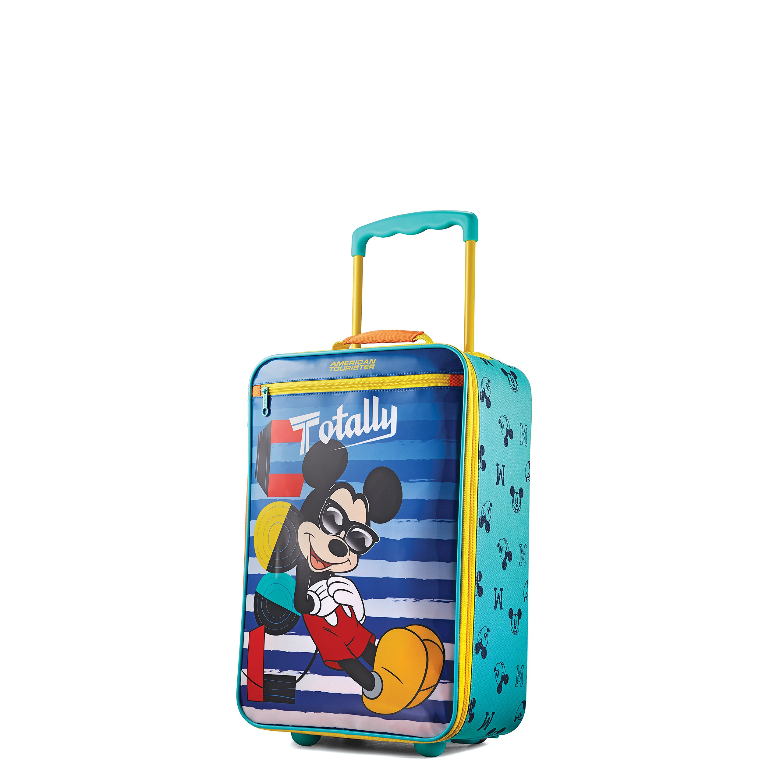 American Tourister Kids Softside 18'' Upright, Disney Mickey Mouse