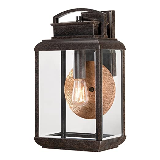 quoizel lighting byron outdoor large wall lantern light imperial