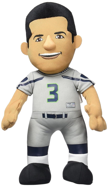 好評 NFL B00PFNE28I Seattle Seahawks Russell Wilson Plush Plush Russell Figure、10インチ、シルバー B00PFNE28I, 永幸堂:42ab5693 --- movellplanejado.com.br