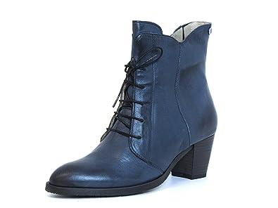 cheaper cc964 5f323 dkode Damen Stiefeletten Blau 2017 398: Amazon.de: Schuhe ...