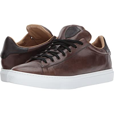 a. testoni Mens Leather Sneaker