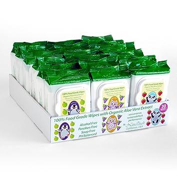 Amazon.com: 18 paquetes 100% extracto de fresa, manzana y ...