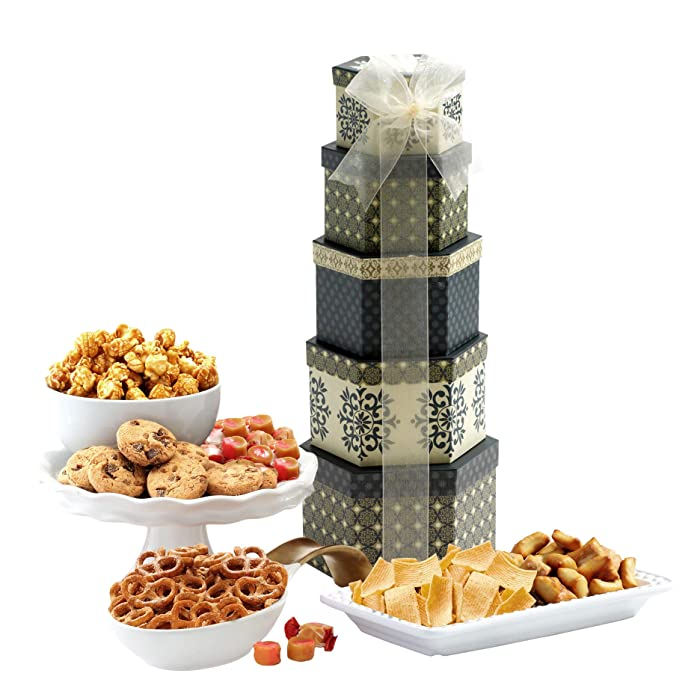 Top 9 Holiday Food Tower Gifts