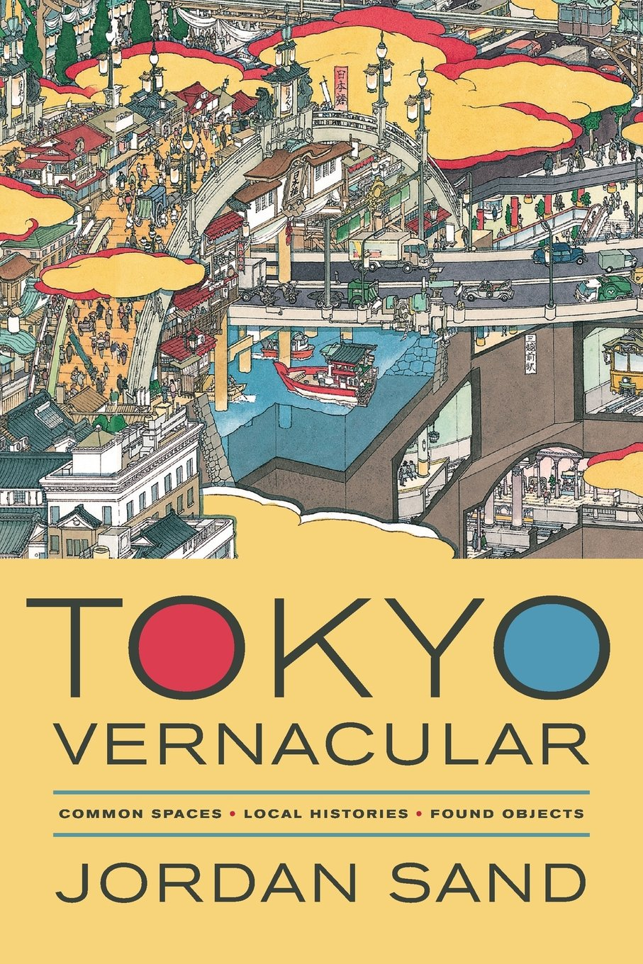 Tokyo Vernacular Common Spaces Local Histories Found Objects Sand Jordan 9780520280373 Amazon Com Books