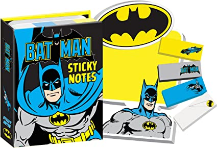 10a1391f3b Amazon.com   DC Comics Batman Sticky Notes Booklet   Office Products