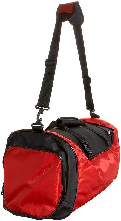 7ed3f8861bd adidas 5122714 Striker Duffel Medium,University Red Black,One Size   Amazon.in  Bags, Wallets   Luggage