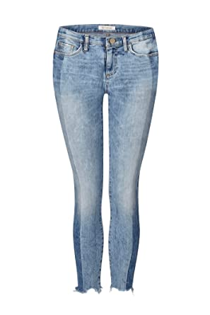 rich   royal Damen Jeans Midi Vintage Stripe Jean  Amazon.de  Bekleidung efb39015f0