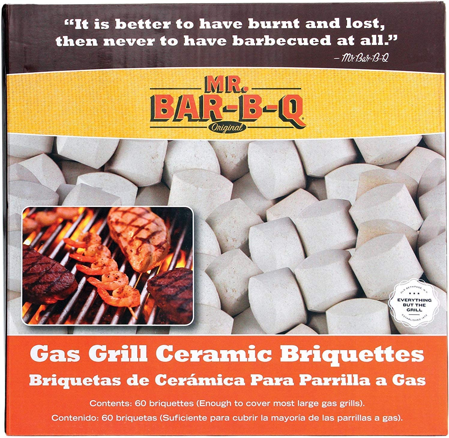 How To Add Ceramic Briquettes To Gas Grill
