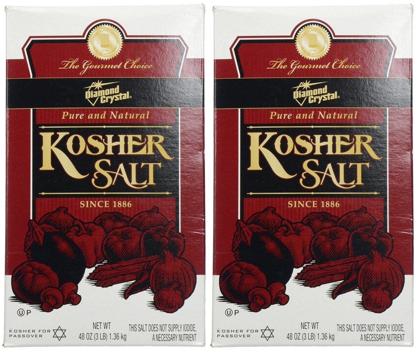 Diamond Crystal Kosher Salt, 3 lbs - Pack of 2 by Diamond (Image #1)