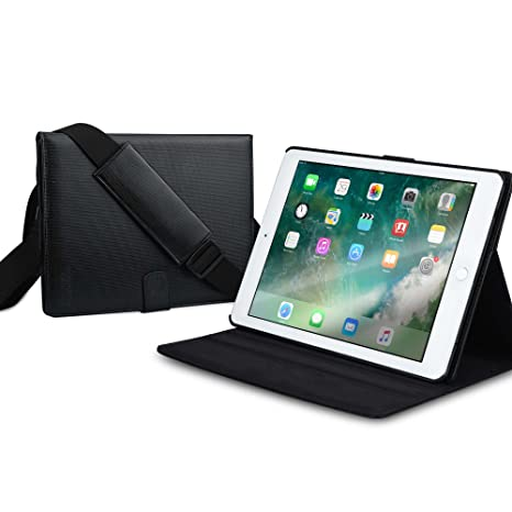 amazon com cooper magic carry ii pro case compatible with ipad 6cooper magic carry ii pro case compatible with ipad 6, ipad 5, ipad air 2, ipad air 1 protective tablet folio cover with handle \u0026 stand carrying case