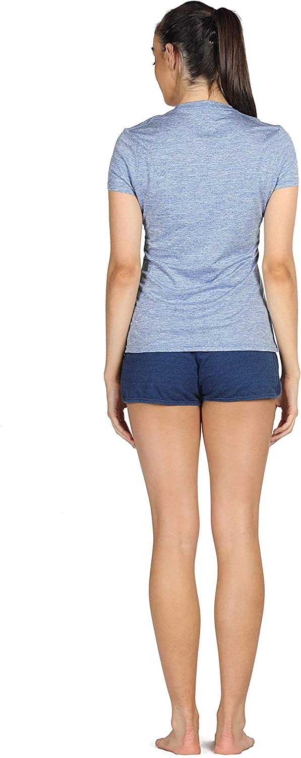 icyzone Womens Workout Running T-Shirt Activewear Yoga Gym Short Sleeve Tops Sports Tee 3 Pack