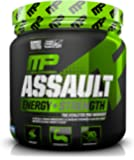 MusclePharm Assault Sport Nutrition Powder, Blue Raspberry, 30 Servings