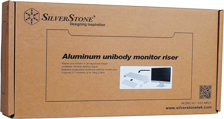 Silverstone Sst Mr01b Ergonomischer Aluminium Computer Zubehör