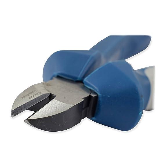Ferrestock Alicate de corte diagonal de 200 MM con mango bimaterial: Amazon.es: Bricolaje y herramientas