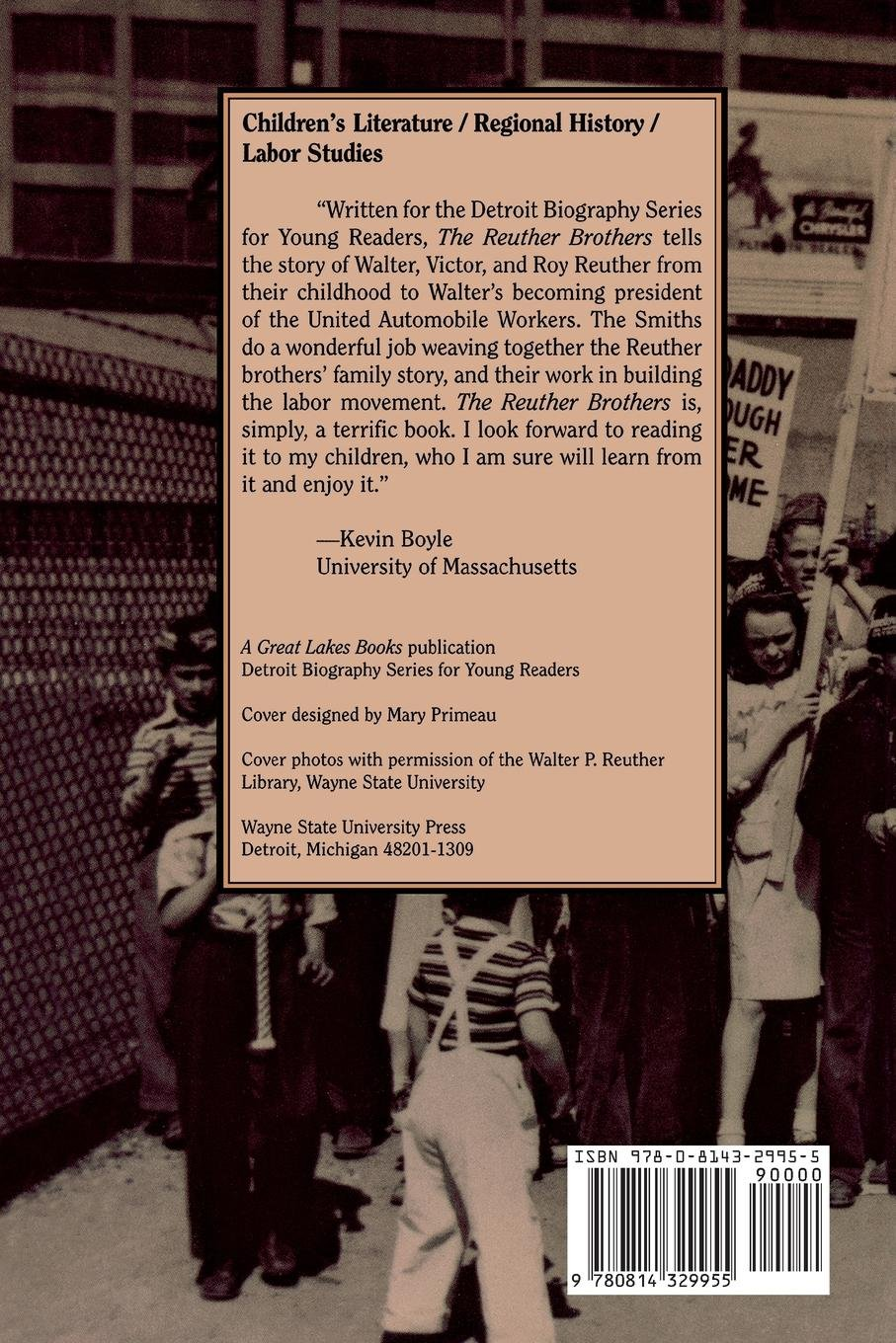 The Reuther Brothers: Walter, Roy, and Victor (Detroit Biography Series for Young Readers) by Brand: Wayne State University Press (Image #2)