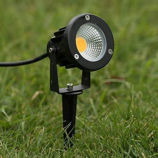 con picchetto faretti da Giardino Giardino Spot Lampada Spot FARETTO da giardino girevole 120 °