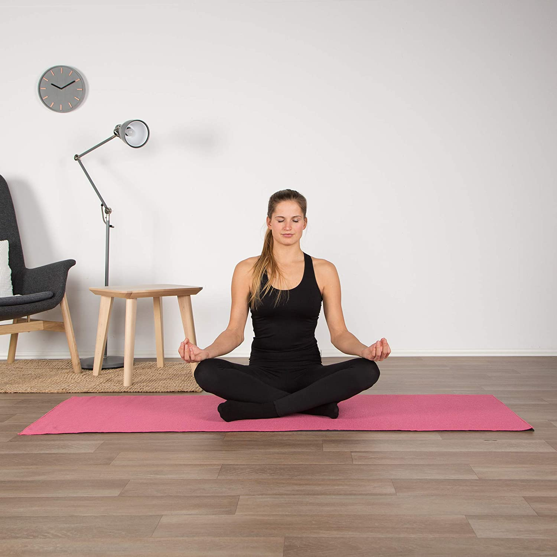 Gymnastik Pilates FBSPORT Gymnastikmatte Sportmatte Fitnessmatte f/ür Yoga 1//3//4//5//6//8 M Yogamatte Fitness