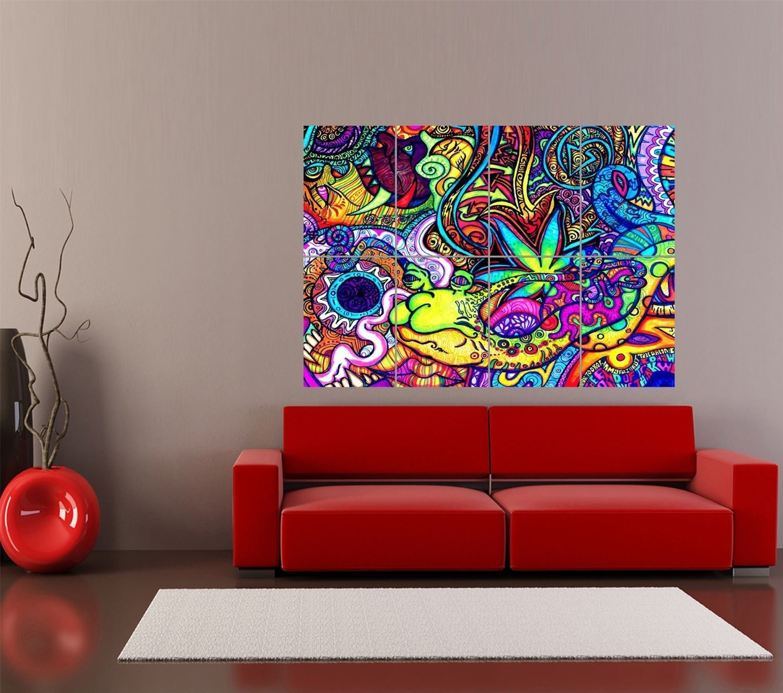 Beau Amazon.com: PSYCHEDELIC TRIPPY ART SNAIL GIANT ART PRINT HOME DECOR POSTER  OZ2430: Posters U0026 Prints