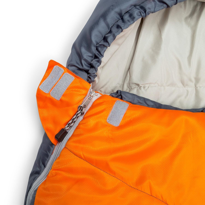 5 /°C /• Packbeutel /• 70 x 180 Yukatana Cabrilho /• Schlafsack /• Mumienschlafsack /• Camping-Schlafsack /• Sleeping Bag /• Outdoor /• Jugendliche /• Kapuze /• H4-Hohlfaserf/üllung /• 2-lagig /• bis