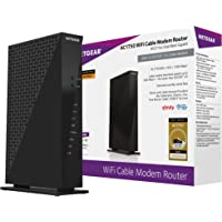 Netgear C6300-100NAS AC1750 (16x4) DOCSIS 3.0 WiFi Cable Modem Router Combo (C6300) Certified for Xfinity from Comcast…