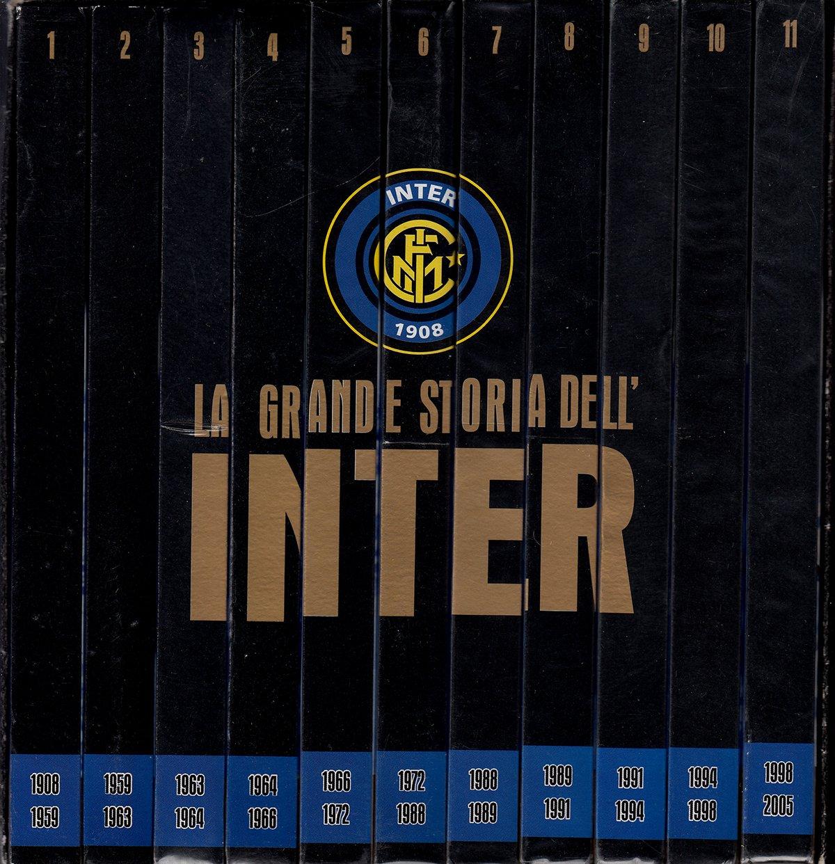 La Grande Storia Dell Inter Box 11dvd Editoriale Gazzetta Dello Sport Amazon It Film E Tv