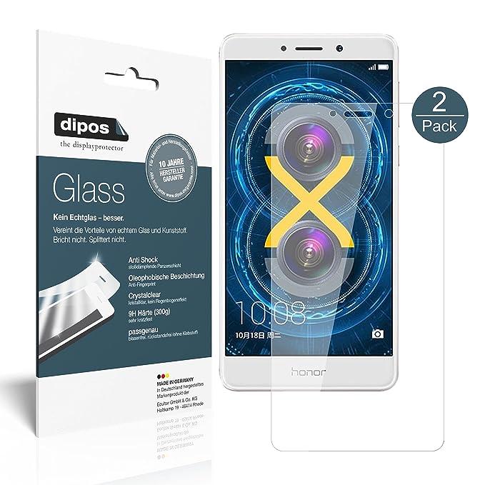 4 opinioni per Honor 6X Pellicola Protettiva- 2x dipos Glass Protezione Vetro Flessibile 9H