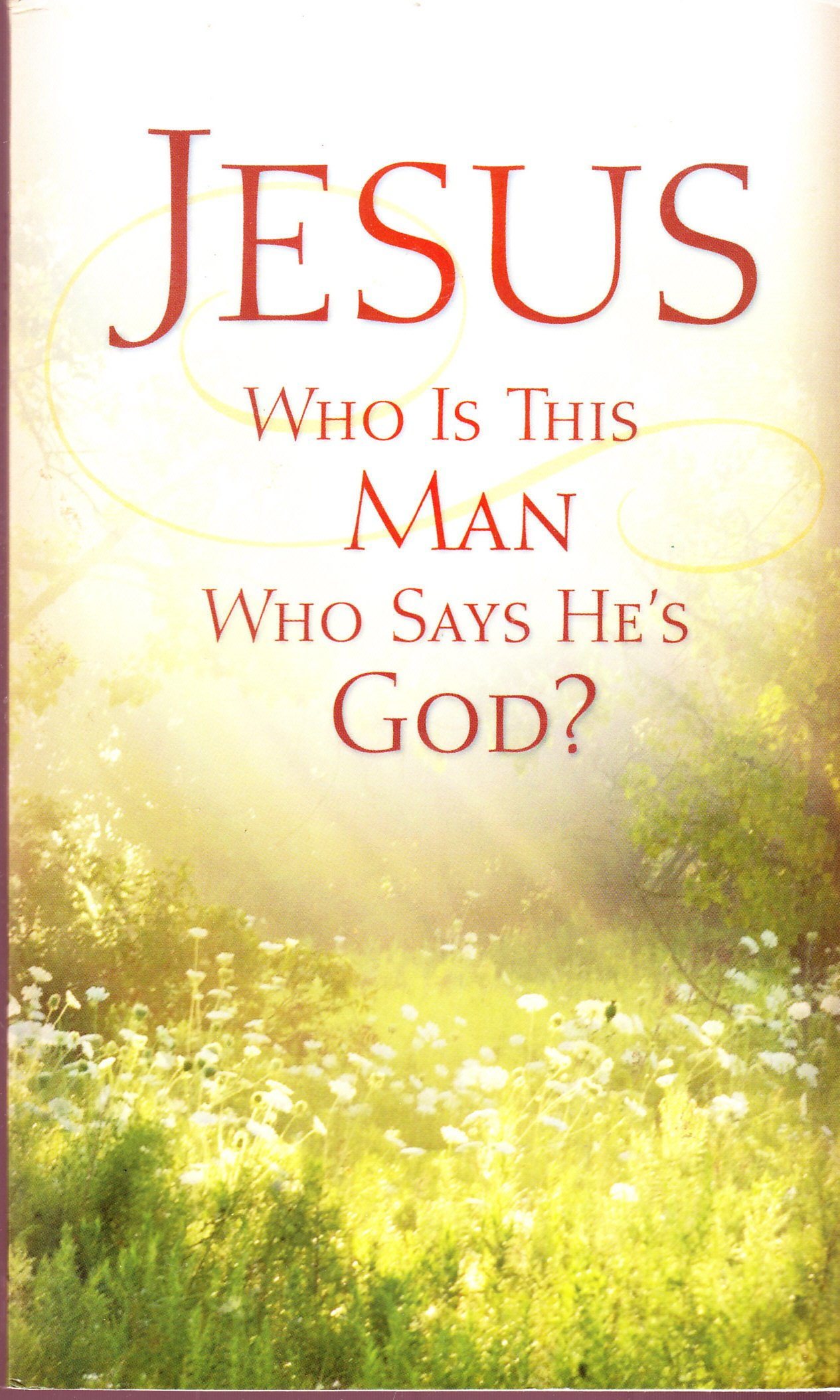 Download Jesus Who is this man who says He is God pdf