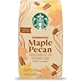 Starbucks Flavored Ground Coffee — Maple Pecan — 100% Arabica — 1 bag (11 oz)