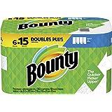Bounty Select-A-Size Paper Towels, 6 Double Plus Rolls = 15 Regular Rolls