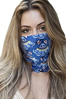 product image for Face Mask Bandana Neck Gaiter Made in USA for Dust Outdoors Festival Activities