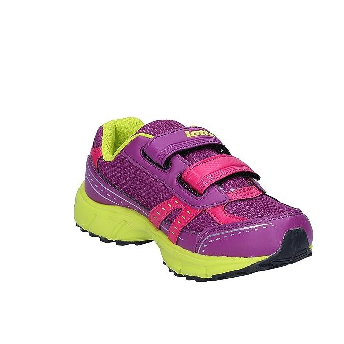 Lotto Sneaker Bambine Viola Purple, Viola