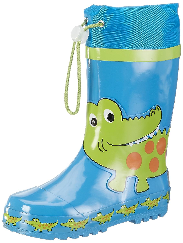 Playshoes Krokodil Botas de agua Unisex niños