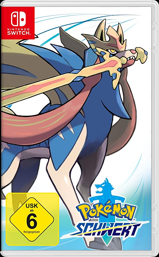 Nintendo Switch Pokemon Schwert: Amazon.es: Electrónica