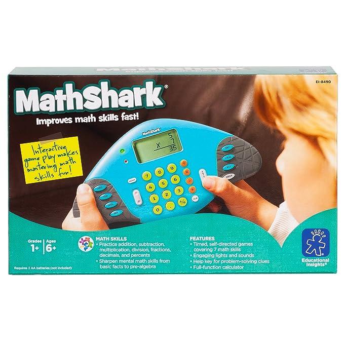 Amazon.com: Educational Insights MathShark: Master Math Skills ...