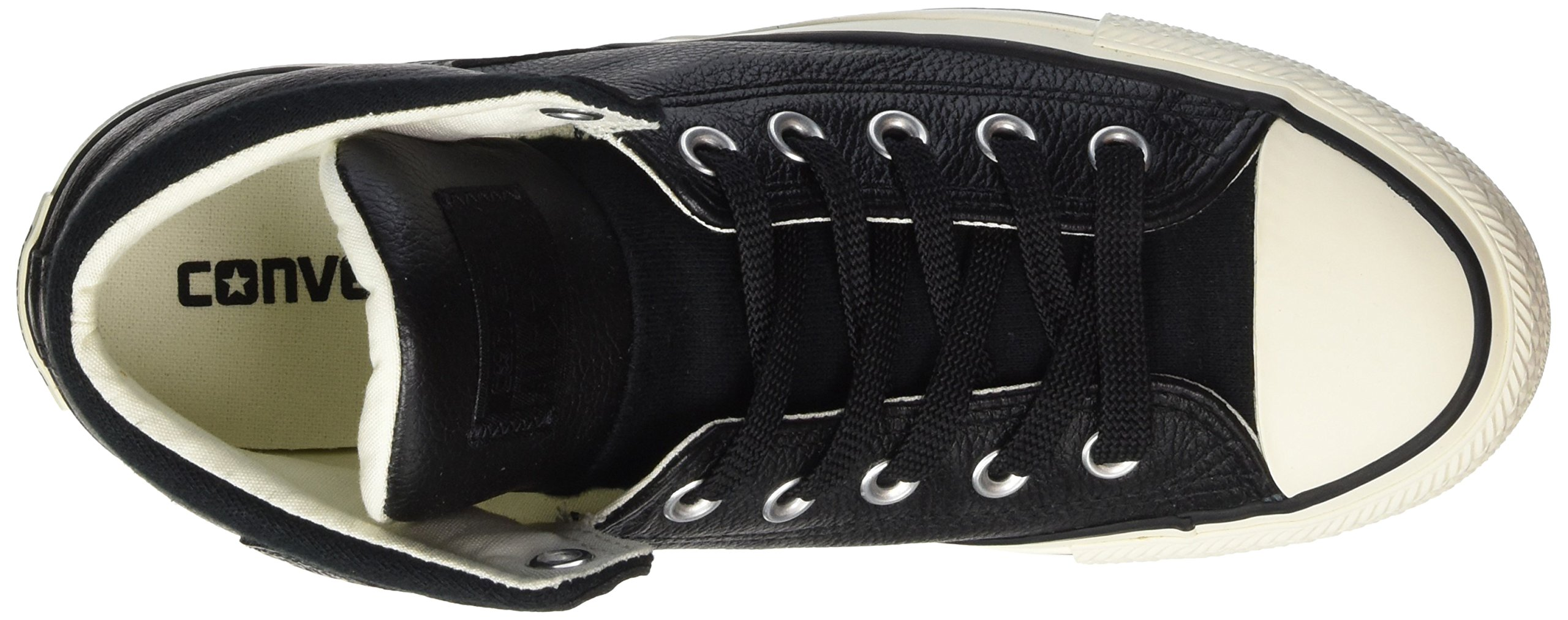 Converse Unisex Chuck Taylor All Star High Street Kurim Mid Sneaker Leather Black 10.5 D(M) US by Converse (Image #7)
