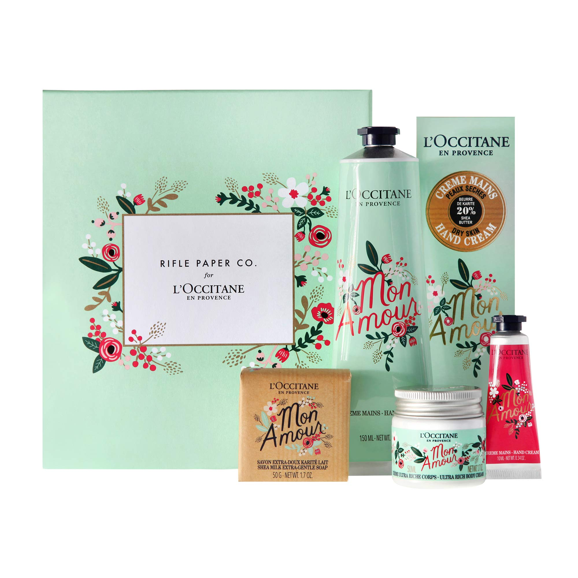 L'Occitane Rifle Paper Co. Shea Butter Favorites Collection, Limited Edition by L'Occitane