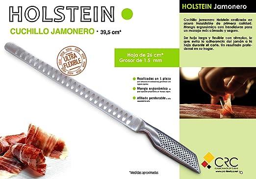 SET DE 4 CUCHILLOS HOLSTEIN: Chef XL, Panero, Jamonero ...
